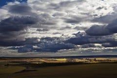 Bewölkte Landschaft Lizenzfreie Stockfotografie