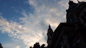 Bewölkter Abend in Budapest lizenzfreie stockbilder
