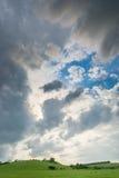 Bewölkter Donner-Himmel Stockbilder