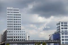 Bahnhof Potsdamer Platz Lizenzfreie Stockbilder