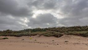 Bewölkter Herbsttag in dem Ozean Lizenzfreie Stockfotografie