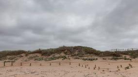 Bewölkter Herbsttag in dem Ozean Lizenzfreie Stockbilder