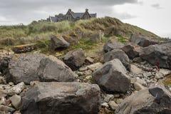 Bewölkter Herbsttag in der irischen Landschaft lizenzfreie stockfotos
