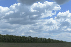 Bewölktes landscape2 Lizenzfreies Stockfoto