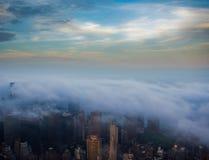 Bewölktes New York Lizenzfreies Stockfoto