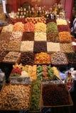Bewaard fruit Stock Foto's