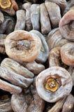 Bewaard fruit van dadelpruim Stock Foto's