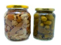 Bewaard voedsel Stock Foto's