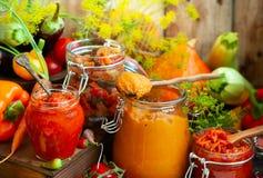 Bewaarde groenten Royalty-vrije Stock Foto
