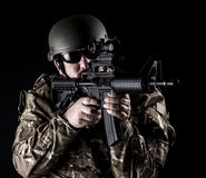 Bewaffnete Kräfte Stockfoto