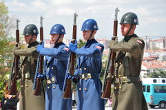 Bewaffnete Soldaten Lizenzfreies Stockfoto