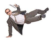 Bewaffneter Mann Lizenzfreie Stockfotos