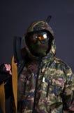 Bewaffneter Soldat Lizenzfreies Stockfoto