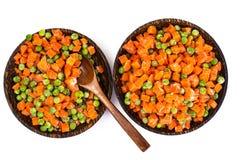 Bewahrung von Vitaminen im gefrorenen Gemüse Stockfotos