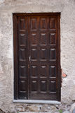 Bewaldete Tür Stockfotos