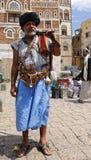 Bewapende oude mens in Yemen Stock Fotografie