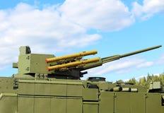 Bewapening van een nieuw generatieinfanterie het vechten voertuig stock afbeeldingen