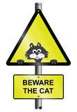 Beware the cat Stock Photos