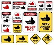 Beware of dog Royalty Free Stock Photo