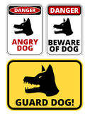 Beware of dog Stock Image