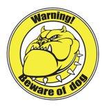 Beware of dog Royalty Free Stock Image