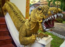Beware of the dragon Stock Image
