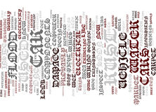 Beware Of A Flood Damaged Used Car In Your Town Word Cloud Concept. Beware Of A Flood Damaged Used Car In Your Town Text Background Word Cloud Concept Stock Photography
