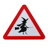 Beware Of Flying Witches Stock Photo