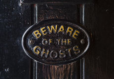 Beware Of The Ghosts Royalty Free Stock Photography