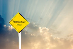 Beware valentine day Royalty Free Stock Photos