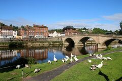 Free Bewdley, A Small Worcestershire Town Stock Photo - 169512700
