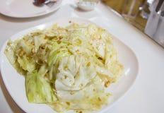 Beweeg Fried Vegetables Royalty-vrije Stock Foto