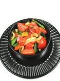 Beweeg gebraden groenten Royalty-vrije Stock Afbeelding