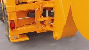 Bewegen des Traktors stock video footage