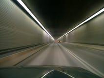 Bewegen mit der Lichtgeschwindigkeit Stockfoto
