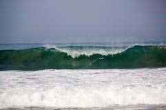 Bewegen Sie das Brechen an mexikanischer Rohrleitung Puerto Escondido Mexi Zicatela wellenartig Stockbilder