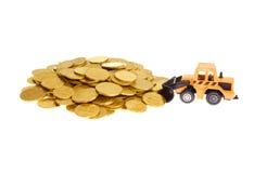 Bewegend Geld Stock Foto's