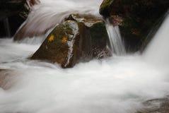 Bewegend water Royalty-vrije Stock Foto