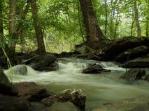 Bewegend Water Stock Foto's