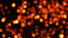 Bewegende achtergrond van het lantaarns de lichte boeket stock video