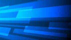 Bewegende blauwe panelen vector illustratie