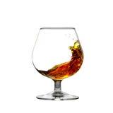 Bewegende cognac Royalty-vrije Stock Foto