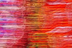 Bewegende gekleurde lichtenachtergrond Abstracte achtergrond Stock Afbeelding