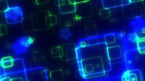 Bewegende grafische lengteachtergrond stock videobeelden