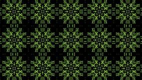 Bewegende Groene Nummers royalty-vrije illustratie