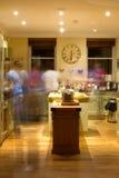 Bewegende Keuken Royalty-vrije Stock Foto's