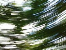 Bewegende lichten Stock Foto