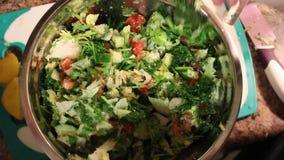 Bewegende saladevideo