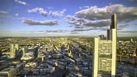 Bewegende Skyline-Schatten stock video footage