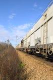 Bewegende trein royalty-vrije stock afbeelding